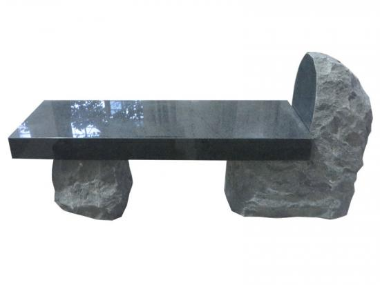 Simple Stone Memorial Benches Ideas