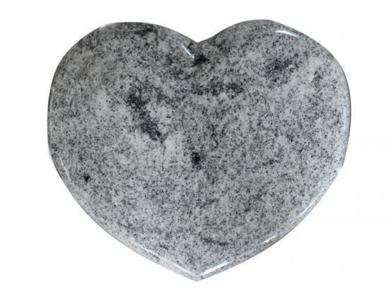 Granite Heart Shaped Headstone