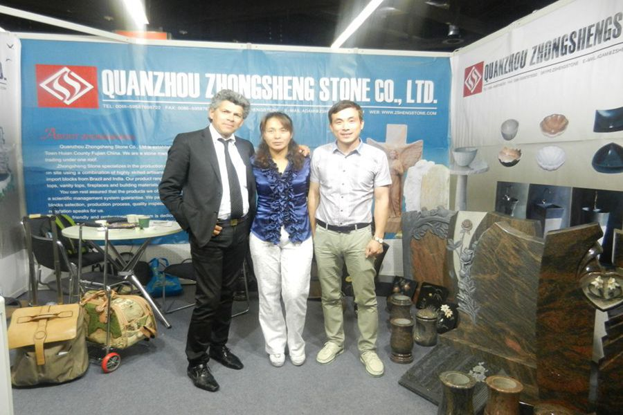 Zhongsheng Stone Attend 2013 Monument Exhibition in Germany