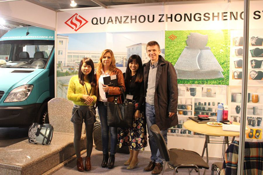 Zhongsheng Stone Attend 2014 Monument Exhibition in Poland