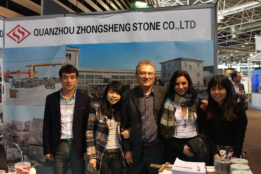 Zhongsheng Stone Attend 2014 Monument Exhibition in France